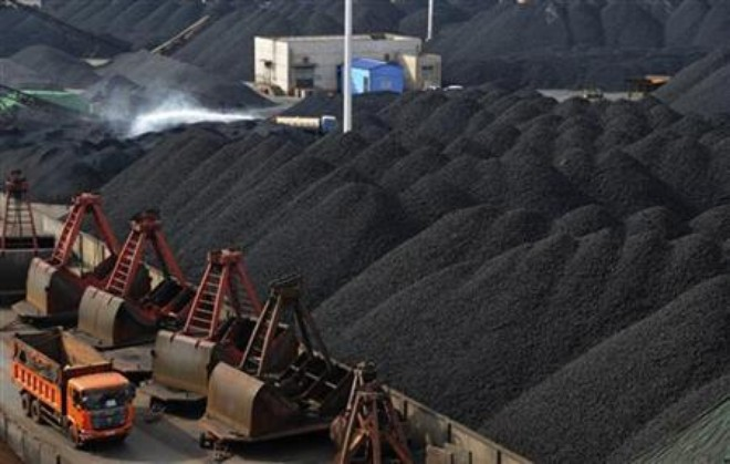 Import cargo buying flags on high China thermal coal stockpiles